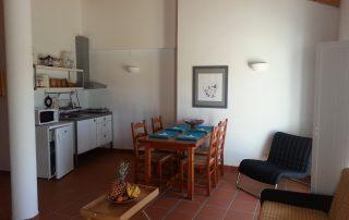 loft two kitchenette