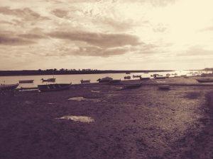 old boat harbor tavira algarve
